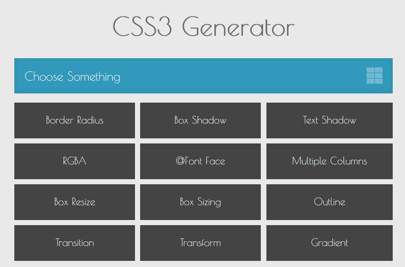 css3generator