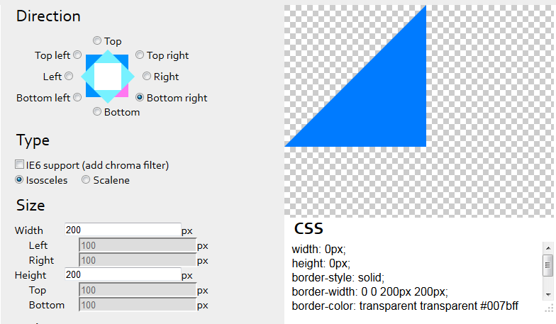 css3triangle
